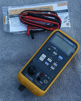 Fluke 719 100G Pressure Calibrator - Near Mint with Test Leads Only!