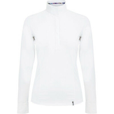 Tredstep Symphony Long Sleeve Womens Shirt Competition - White All Sizes