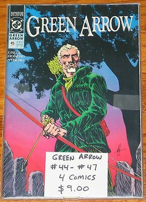 Green Arrow #44-47 run Mike Grell lot LOW COMBINED SHIPPING