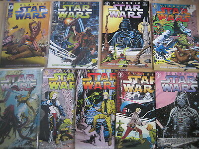 Classic STAR WARS : #s 3,4,5,7-20. 17 issues of the 20 issue 1992 Dark H series