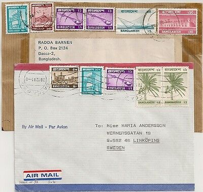 FRONT and COVER  BANGLADESH TO SWEDEN. l507