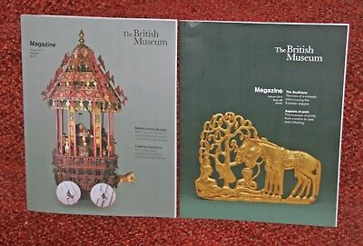 Two British Museum magazines. Issue 89 & 88. Autumn and Winter 2017