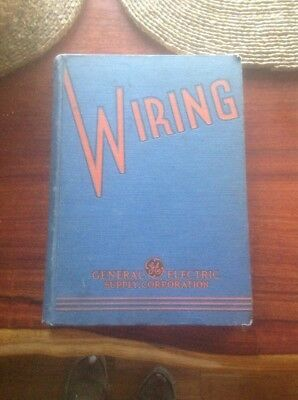 GENERAL ELECTRIC Wiring Catalog GE Asbestos Wire 1936 Deltabeston Cable
