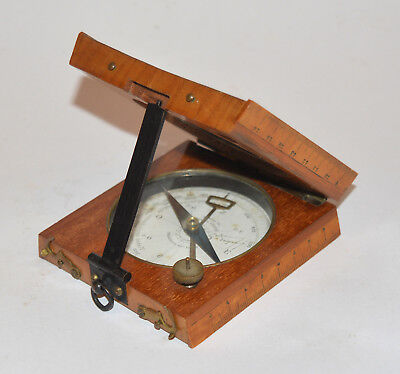 French Surveying Compass / Clinometer.