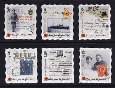 Guernsey 2015 Stories from the Great War Series 2 MNH (6)