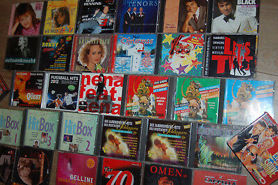 Sammlung Konvolut CD Engelbert Nicky Roy Black 70er 80er 90er Disco Pop Sampler