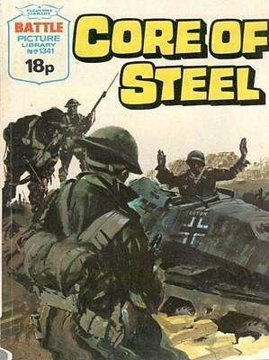 1979  No 1341 38617 Battle Picture Library  CORE OF STEEL