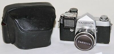 Yashica Penta J Complete In Case With Meter and Yashinon 5cm f/2 lens AS IS