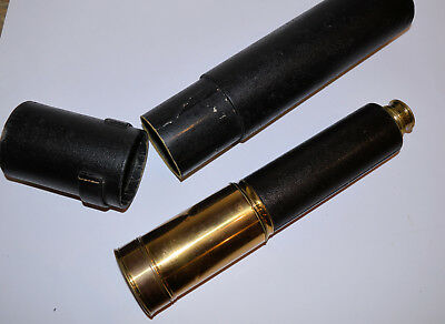4 draw telescope – J.H. Dallmeyer, London. Pancratic eyepiece.