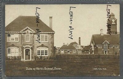 ORIGINAL OLD POSTCARD, DUKES OF YORK SCHOOL, DOVER, HBF&L No418