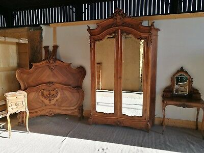 Stunning Antique French Bedroom Suite
