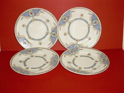 Four Very PrettyCrescent China George Jones & Sons Side Plates 29201