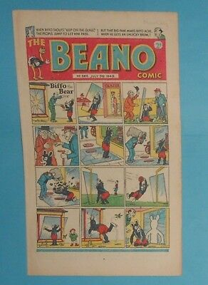 The Beano Comic # 365 , Lord Snooty , 1949.  Vg Condition .