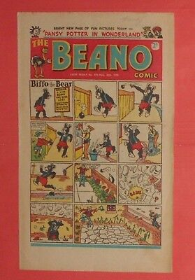 The Beano Comic # 370 , Jack Flash, 1949.  Vg Condition .