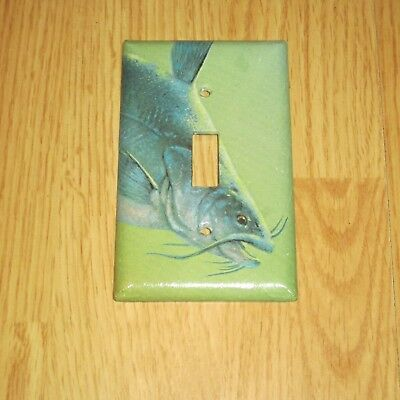 Catfish Wild Game Fish Light Switch Cover Plate #1