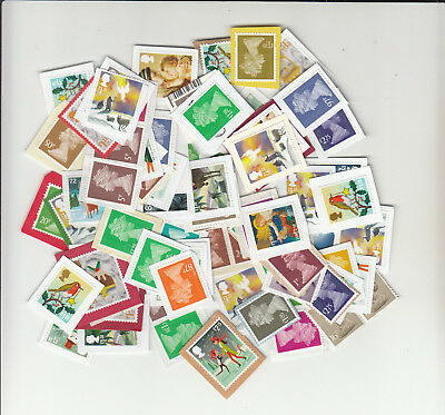 £80 postage Unfranked - No Gum- on-paper  FREE SHIP