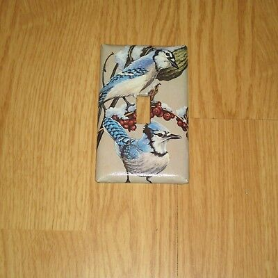 Classic Blue Jays Bird Birds  Light Switch Cover Plate
