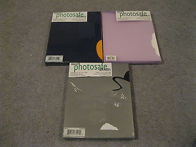 "Nexxt Photosafe Acid Free Pages  3 Boxes = 216 Pages 4"" By 6 "" *sealed New*"