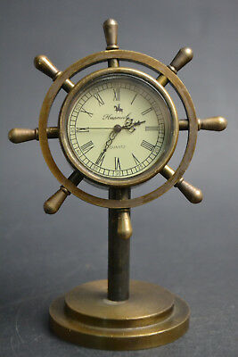Collectible Copper Exquisite Roman Dial Used Mechanical Clock  Watch