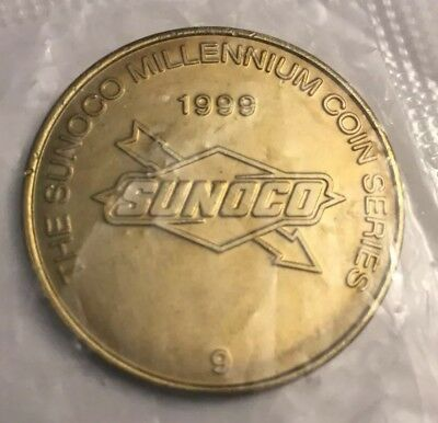 The Sunoco Millennium Coin Series Coin #9 Lot of 2