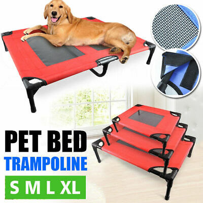 4 Size Heavy Duty Pet Dog Cat Trampoline Hammock Canvas Bed Puppy Cover