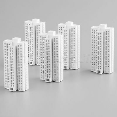 Modern Tall Building For Model Train Railway Layout H-72mm HO OO Scale 1:500