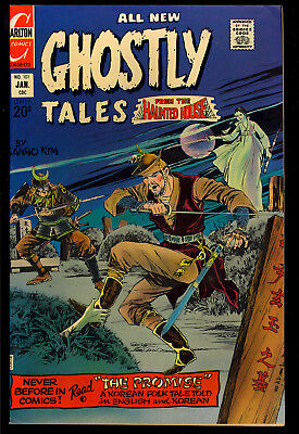 Ghostly Tales #101 Nice Ditko Art Charlton Horror Comic 1973 FN-
