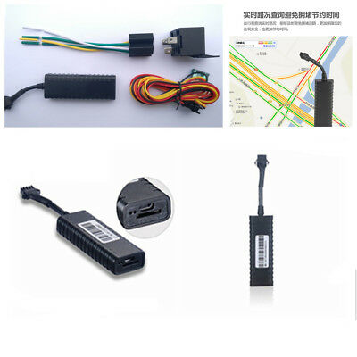 Portable Car Motorcycle GPS Tracking Device w/ Engine Cut ACC Detection Function