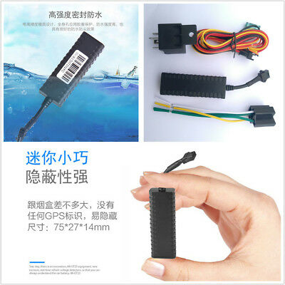 Mini Motorcycle Car SUV GPS Tracking Device With Remote Fuel Engine Cut Function