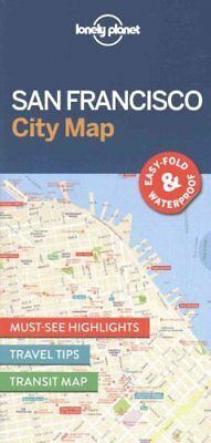 Lonely Planet San Francisco City Map by Lonely Planet 9781786577818