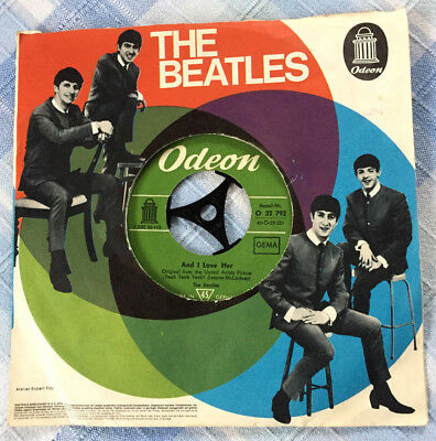 The Beatles # And I Love Her/I Should Have.. # Odeon O 22 792 # LABELVARIANTE !