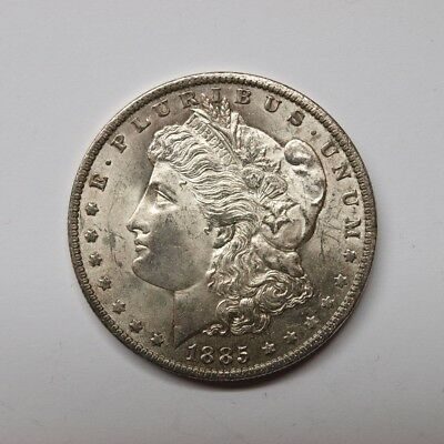 USA 1885 Morgan Dollar New Orleans ss (M2246