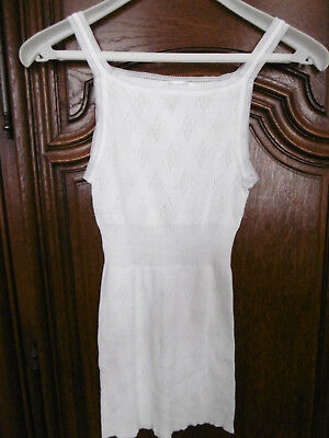 Chemise longue  blanche DAMART     taille S  neuf