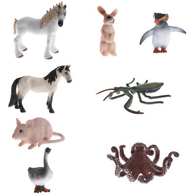 Realistic Animal Model Figure Figurine Kids Toys Home Decoration Collections