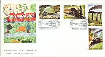 Greece - Special Events, People & Anniversaries (11no. PO/Other  FDC's) 1984-87