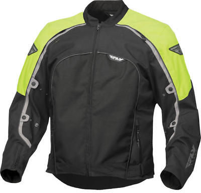 Fly Racing Butane 4 Jacket Hi-Vis/Black X-Large