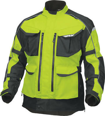 Fly Racing Terra Trek 4 Jacket Hi-Vis/Black Large