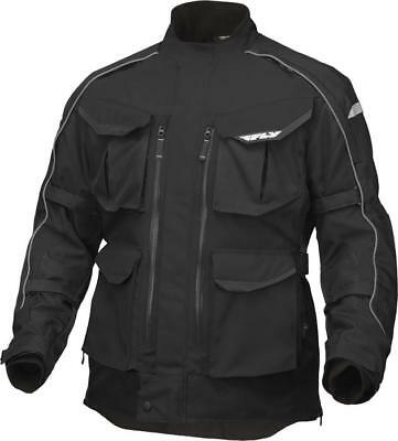 Fly Racing Terra Trek 4 Jacket Black 2X-Large