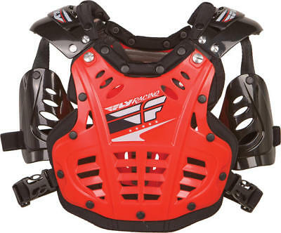 Fly Racing Mini Convertible II Deflector Red