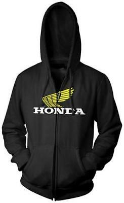 Honda Collection Casual Zip Hoody Black Large