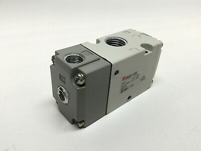 SMC VPA342-1-02A Pneumatic Solenoid Air Pilot Operated Valve, 3-Port, 0.2-1 MPa