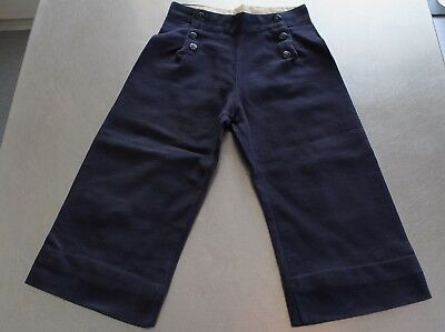 Vintage 1920s Sailor Pants Trousers Britches for Small Child Boy Nautical