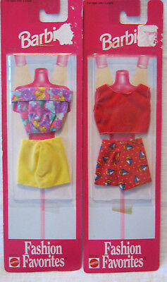 Barbie Fashion Favorites Lot Of 2 ~ 1998 ~ Mixed Theme ~ New