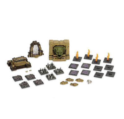 D&D Dungeons & Dragons Miniatures Set 7: Tomb of Annihilation Tomb and Traps Set