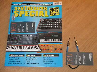 Keys Extra 1/2017 Mit Cordial Patchkabel - Synthesizer Special - Top