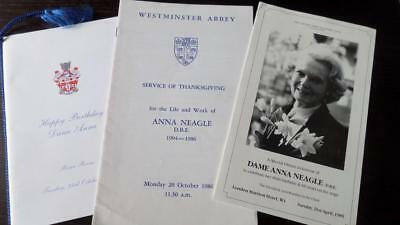 Anna Neagle Thanksgiving Service and Birthday tribute celebrations
