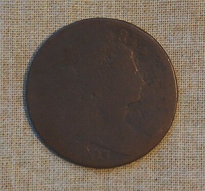 1803 Draped Bust Large Cent - About Good Details