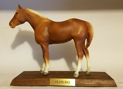 VINTAGE 1970's Breyer Presentation Collection QUARTER HORSE YEARLING Super Rare!
