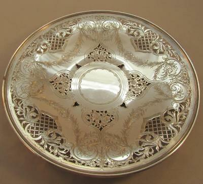 Pierced & Engraved Sterling Plate Shrevecrump & Low