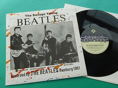 The Beatles The Savage Young Beatles Hamburg 1961 Comp 1982 Charly 10in IMMAC